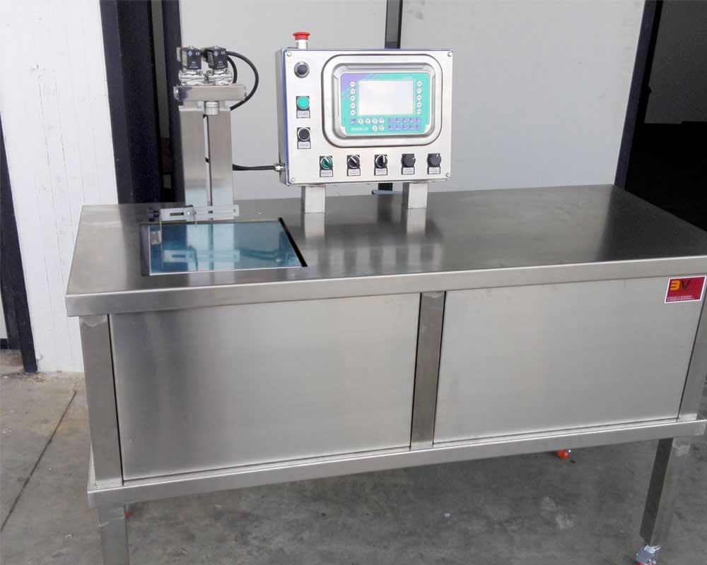riempitrisce semiautomatica miscelatore olio