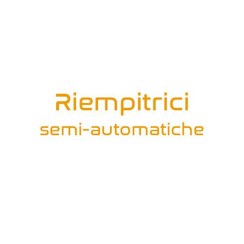 riempitrici semi automatiche